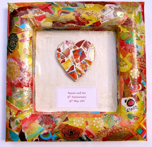 romantic heart gift