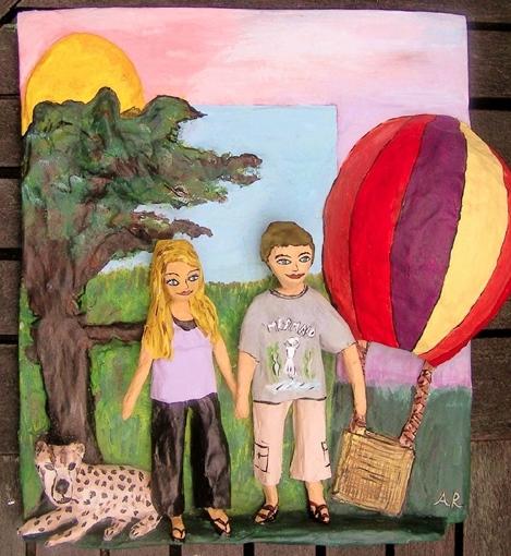 Africa Balloon trip memory