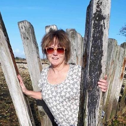 Anita Russell Papier Mache artist Driftwood Dreams