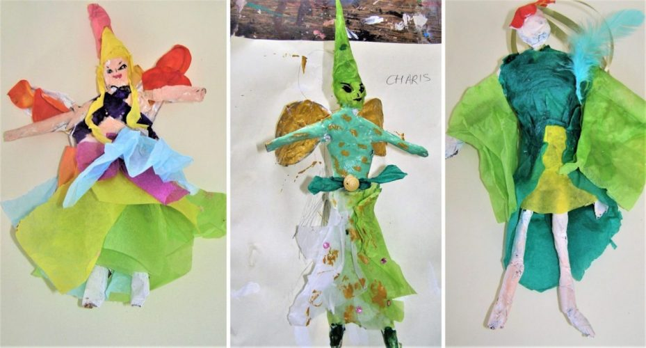 Spiderwick fairies papier mache children's workshop