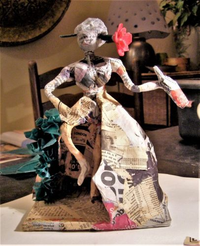 Papier mache workshop with Anita Russell- Driftwood Dreams