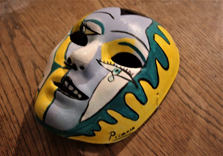 Picasso themed mask