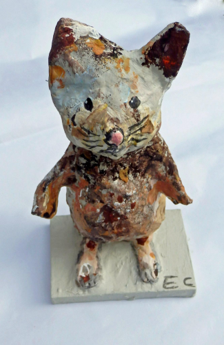 papier mache hamster workshop