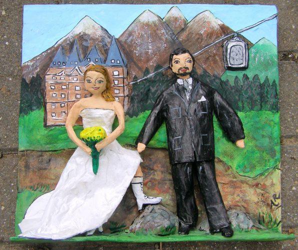Banff honeymoon memory