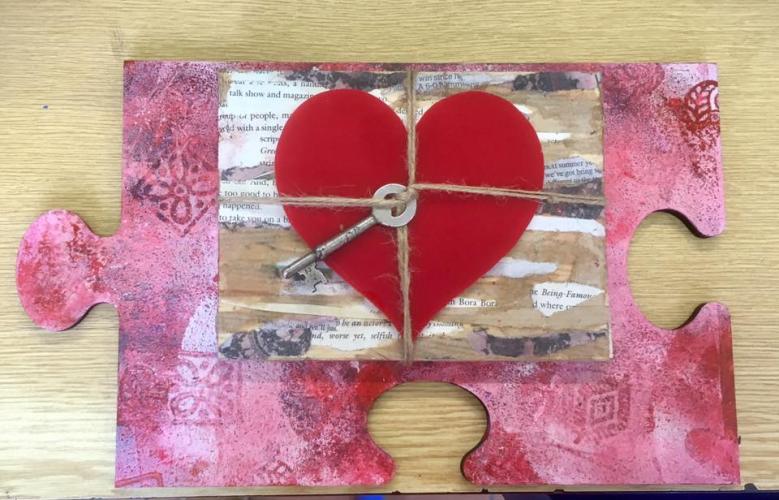 Collage romantic gift