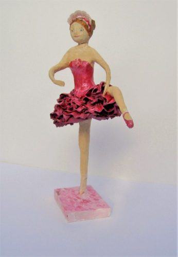 papier mache ballerina workshop